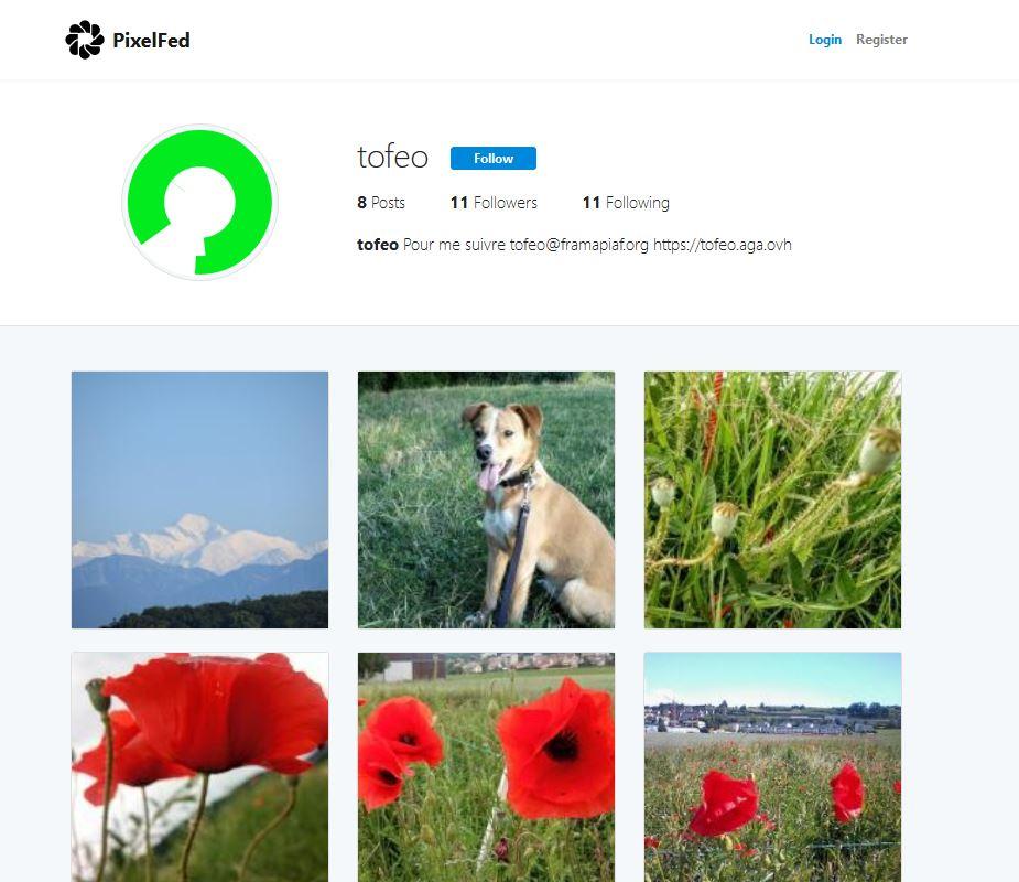 Pixelfed Partage fédéré d'images