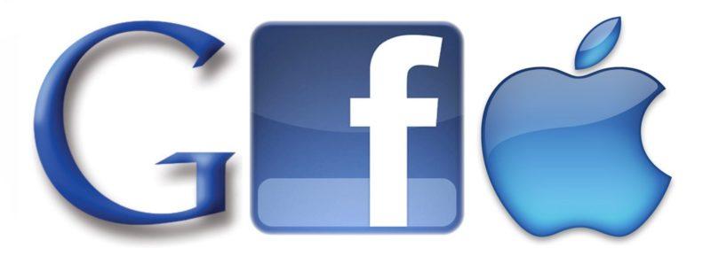 Google, Apple, Facebook, les nouveaux maîtres du monde