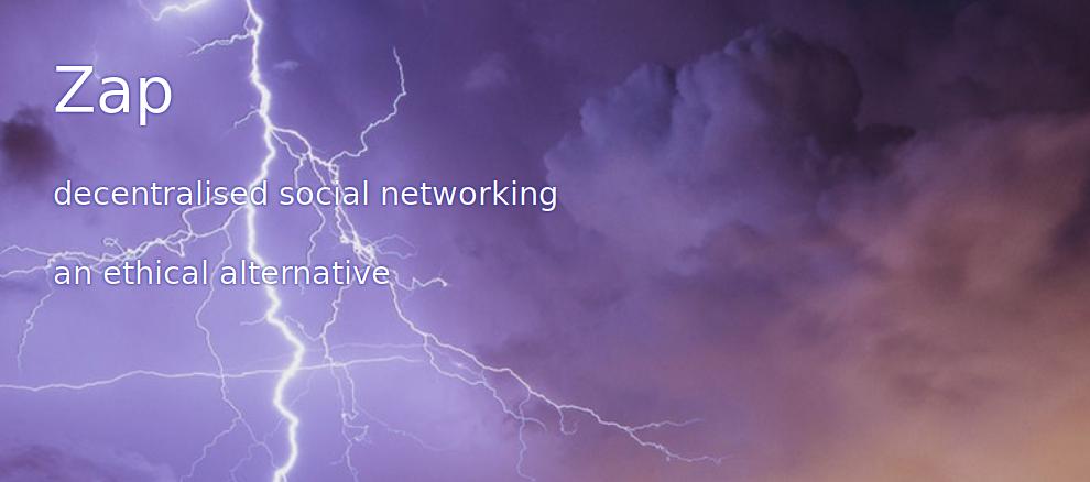 Zap : un nouveau type de réseau social