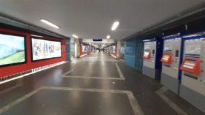 Gare de Lausanne mars 2020